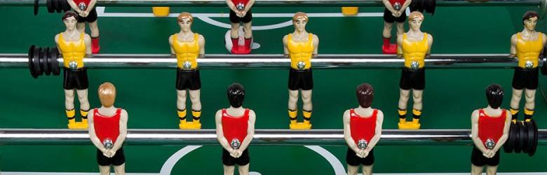 Tischfußball Figuren