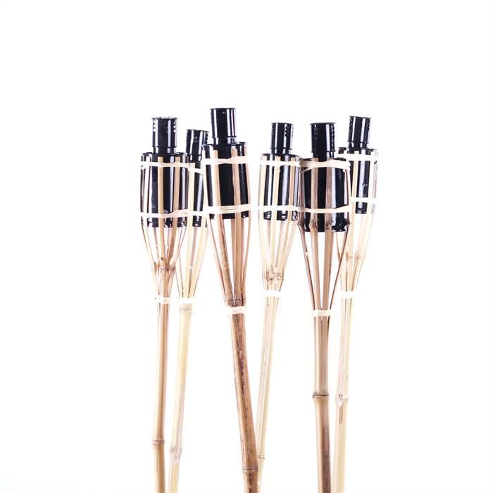 Bambusfackeln für den Garten