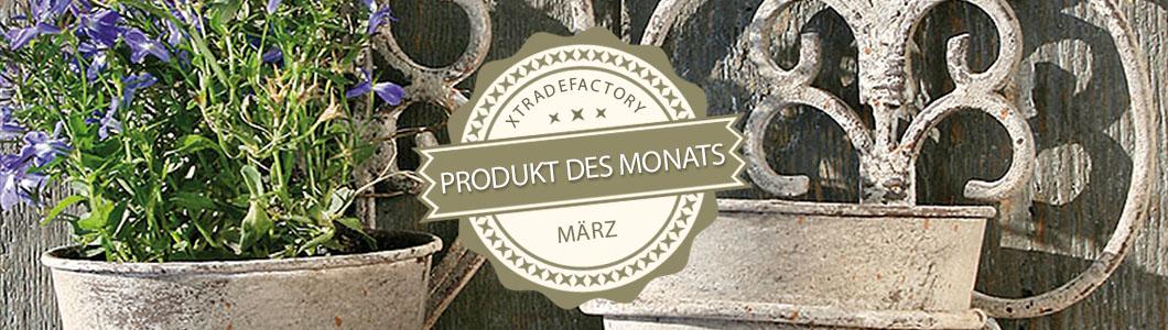 produkt des monats vintage blument pfe f r die wand