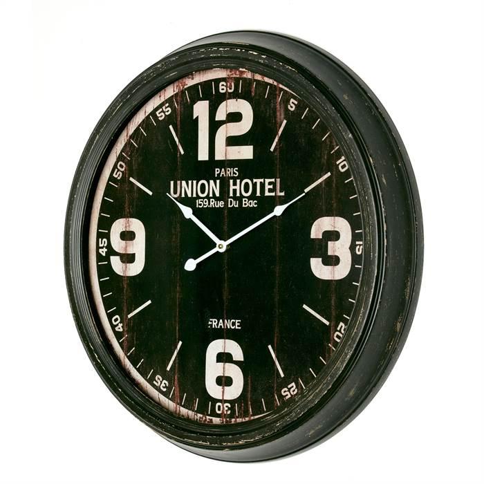 Große Union Hotel Wanduhr