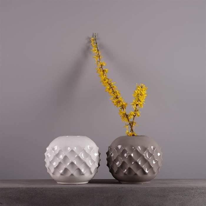 Runde Keramikvase Pina