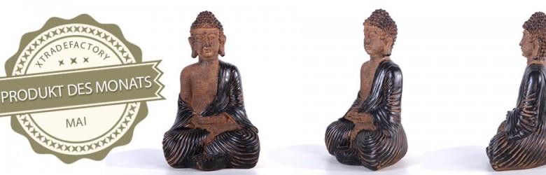 Produkt des Monats Mai Buddha Dekofigur