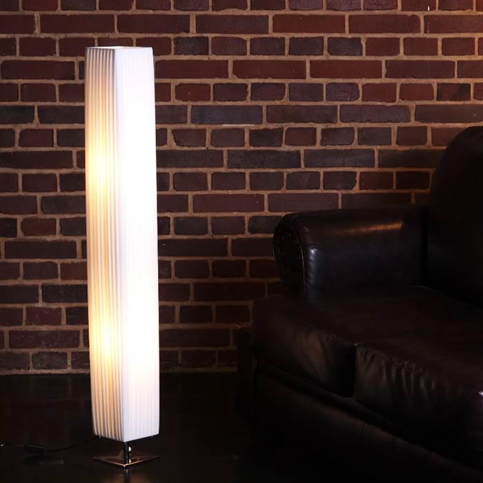 Leuchtende Plissee Lampe
