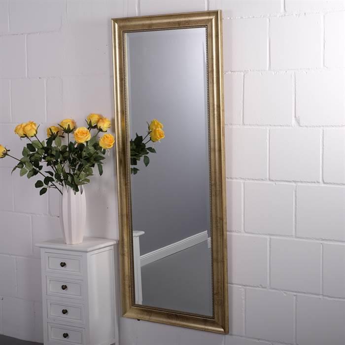 Großer Spiegel in Gold-Optik