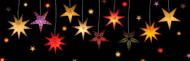 Eine weihnachtliche Sternlampe macht die Weihnachtszeit besonders gemütlich!